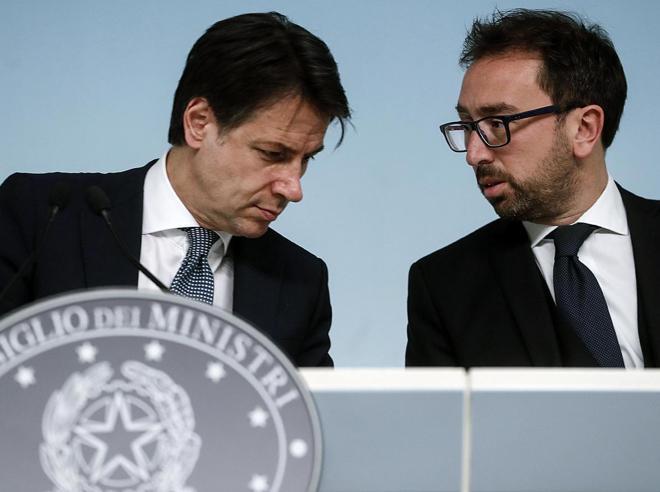 """Prescrizione, ecco il testo del """"lodo Conte""""Italia Viva pro"""