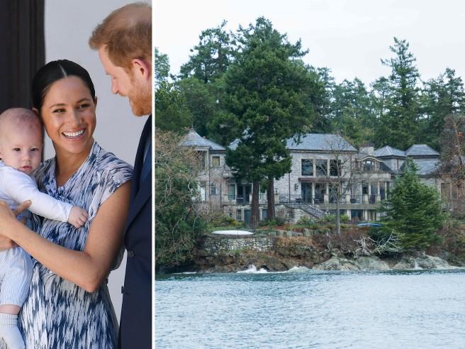 Harry e Meghan: la casa sull'isola di Vancouver (da 12,6 milioni di euro)