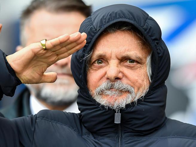 Massimo Ferrero, la Sampdoria in vendita e l'assedio dei creditori al presidente