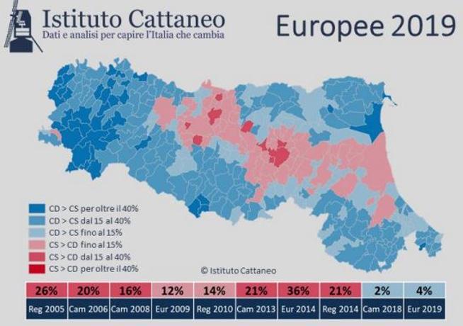 Elezioni Regionali 2020: ecco come l'Emilia Romagna è diventata sempre più di centrodestra