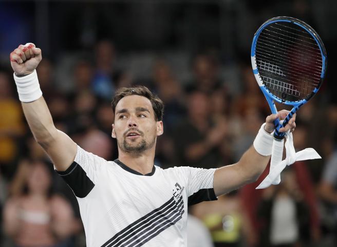 Australian Open, Fognini batte Pella e va agli ottavi, Federer avanti col brivido