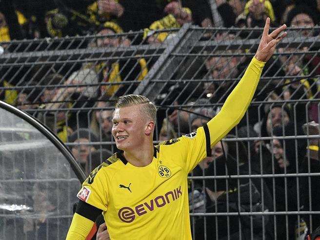 Haaland incredibile: entra e segna altri due gol in venti minuti
