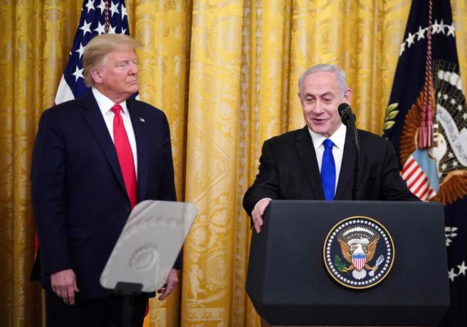 Medio Oriente, il piano di pace di Trump: «Gerusalemme indivisa»Il progetto in quattro punti