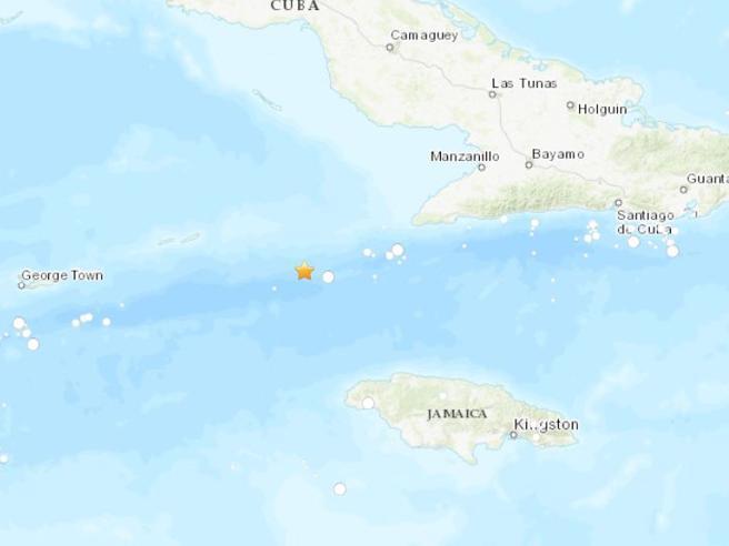 Sisma   7.7 in mare tra Cuba e Giamaica: revocato allarme tsunami