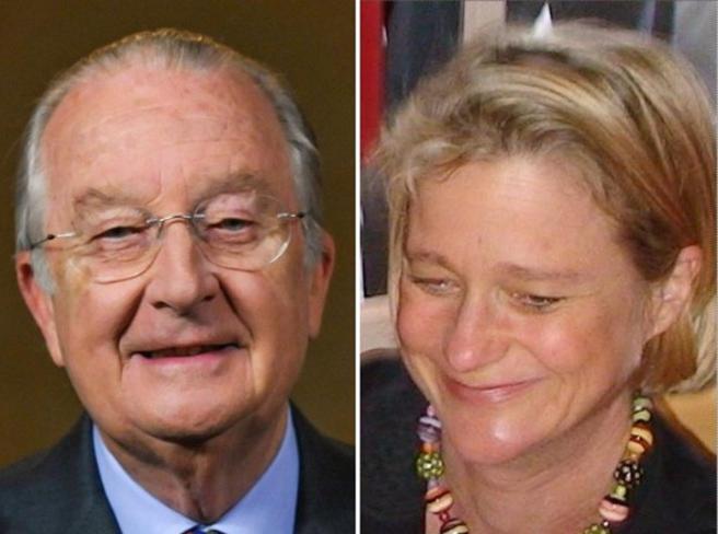 L'ex re del Belgio ora ammette: «Sì, Delphine Boël  è mia figlia»