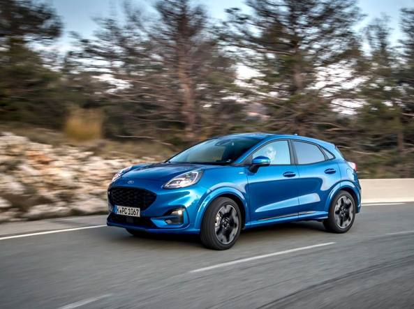Ford Puma, la Suv coupé  dall'ibrido performante