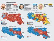 Emilia-Romagna, la svolta degli elettori M5S: due su tre sono passati al Pd