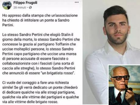 «Pertini assassino e brigatista rosso». Bufera sul consigliere della Lega (che poi si scusa)
