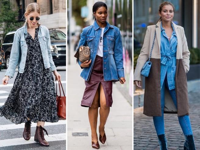 Come indossare il giubbotto di jeans, le idee da copiare per essere di tendenza