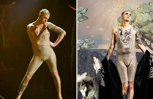 Sanremo 2020, perché Achille Lauro si è vestito così?