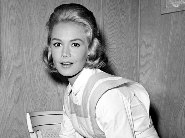 Sandra Dee durante le riprese di «Tammy and the Doctor», nel 1962 (foto Ap)