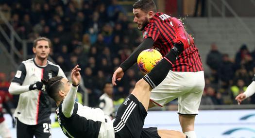 Milan-Juventus 1-1: Cristiano Ronaldo risponde su rigore a Rebic, è ...