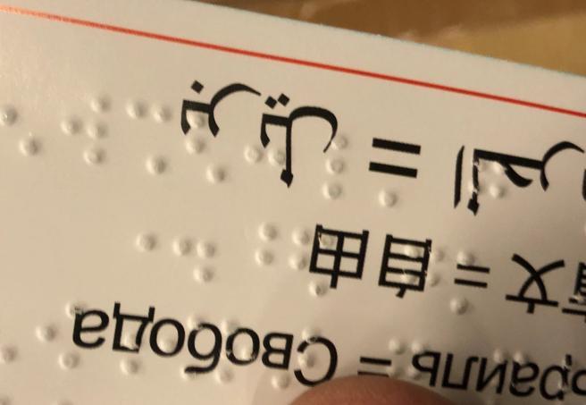 Un segnalibro in Braille venerdì in regalo   per i lettori del Corriere