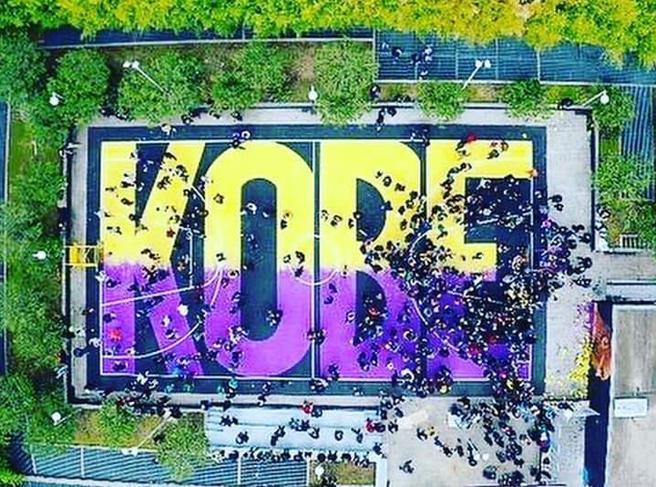 «Kobe Memorial Park», la Nazionale di basket inaugura il playground di Napoli