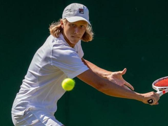 Tennis, Leo Borg sconfitto all'esordio da professionista nel Challenger di Bergamo