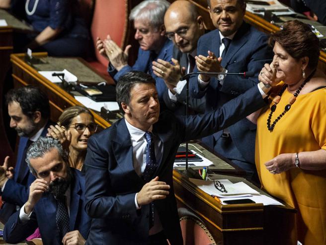 La tattica dello «stop and go». Renzi ai suoi: sarà bello fare opposizione