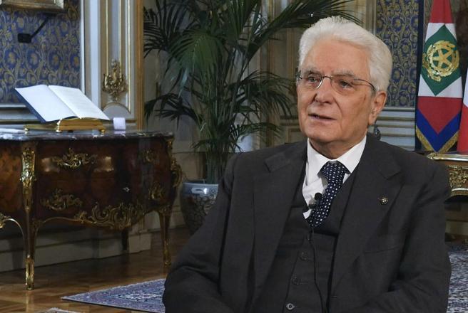 Messaggio di Mattarella agli italiani: «Periodo travagliato,