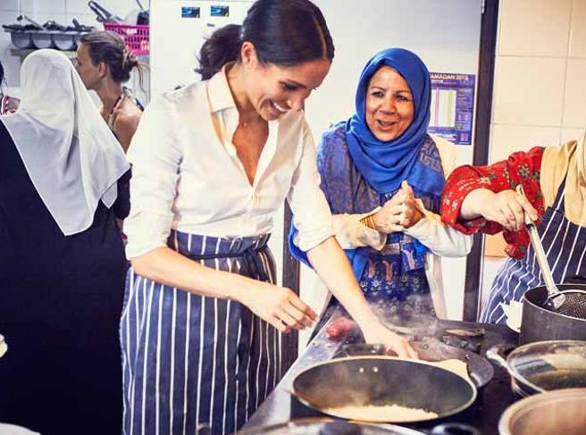 Meghan Markle, nel futuro non c'è solo Hollywood: in cantiere un (nuovo) libro di cucina