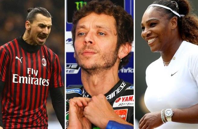 Ibrahimovic lascia, e poi? Da Valentino Rossi a  LeBron e Serena quelle star che (se tutto va male) rischiamo di non vedere più in campo
