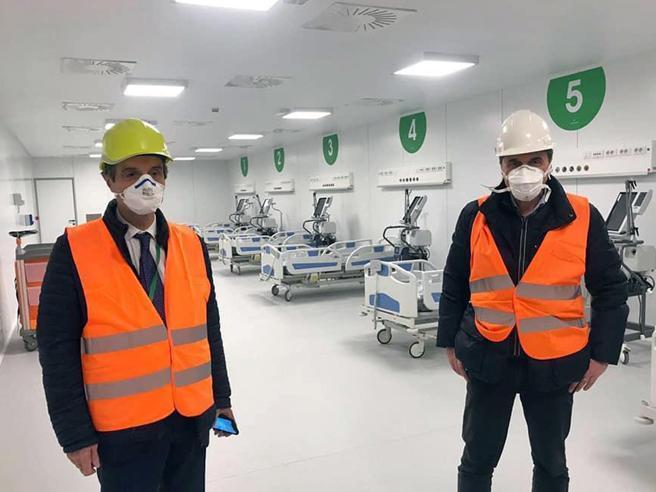 Coronavirus, ospedale Fiera a Milano:  donati 21 milioni per la terapia intensiva