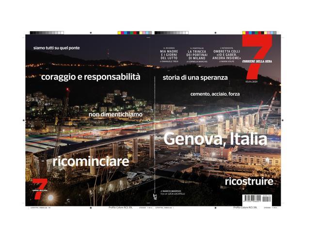 Su 7 «Noi, nel cantiere del ponte di Genova non ci fermiamo. Una storia di speranza per tutti»