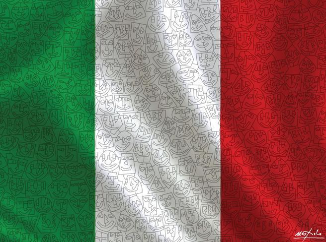 Il  nostro Tricolore d'autore per voi:  dopodomani in edicola con il Corriere