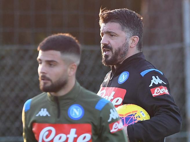 Napoli, Gattuso e il suo staff tecnico «allenano» i tifosi a casa con 6 video tutorial