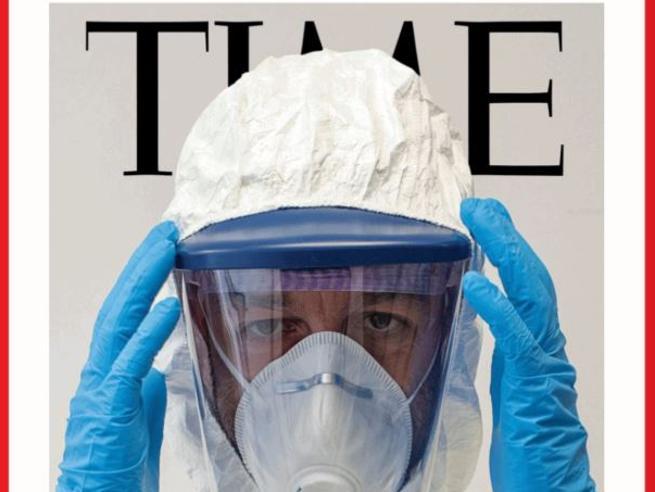 Un anestesista di Ravenna sulla copertina di «Time»: «È il