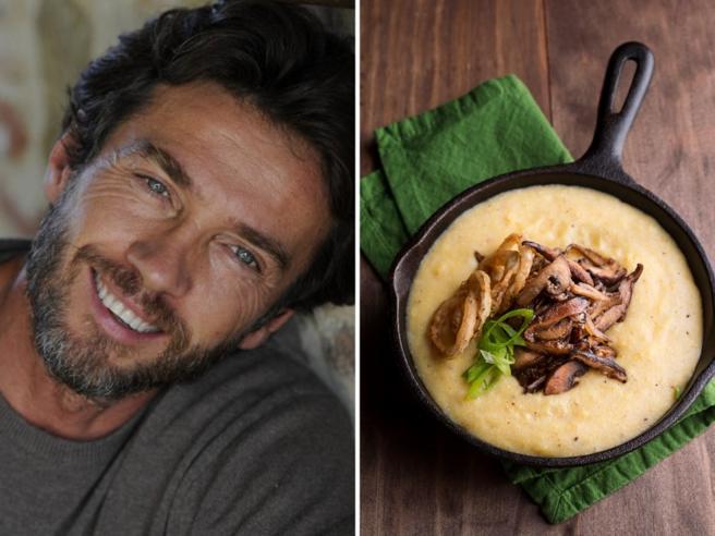 Alessio Boni: «A casa cucino le ricette (terapeutiche) della nonna. E penso alla mia Sarnico...»