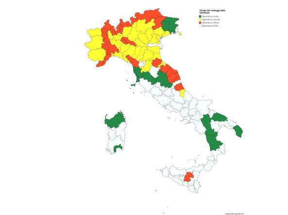 Fase 2, Più del 20% delle città italiane non sono pronte a ripartire