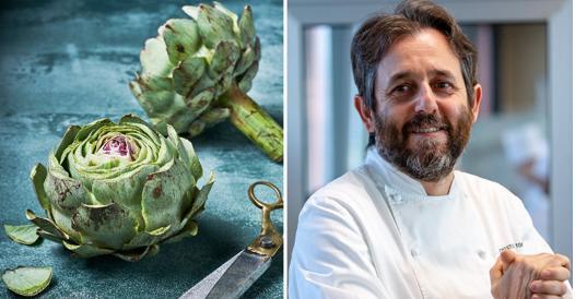 Carciofi al sale, la ricetta dello chef Cristiano Tomei