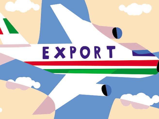 Export, we start again in the autumn. So we will sell food and drugs to China and Germany