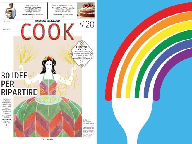 30 chef, 30 idee per ripartire nel nuovo numero di Cook  in edicola il 13 maggio
