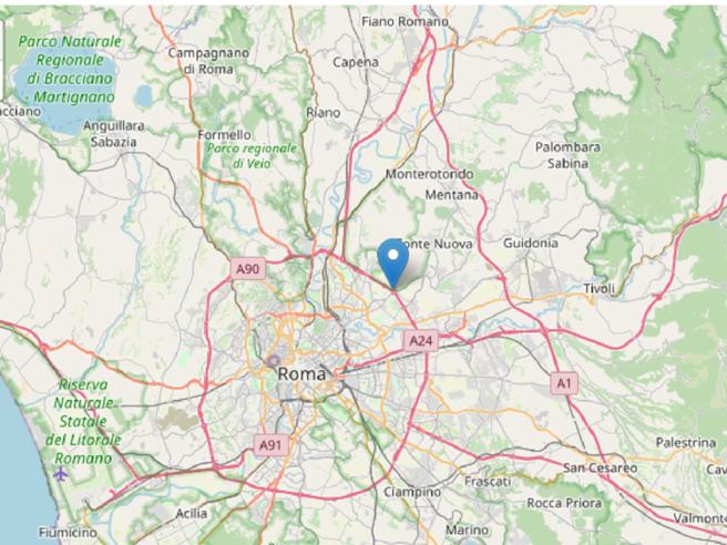 Terremoto a Roma di magnitudo 3,3, epicentro vicino a Fonte Nuova: «Un boato, poi tutto s'è messo a tremare»