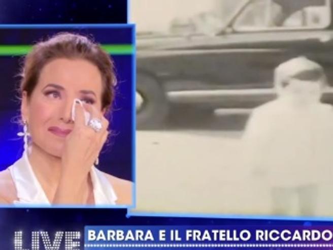Barbara d'Urso piange in diretta tv: chi è l'ex marito Michele Carfora