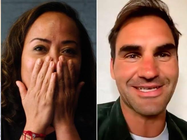 Coronavirus, Roger Federer ringrazia l'infermiera di New York: «Sei la mia eroina»