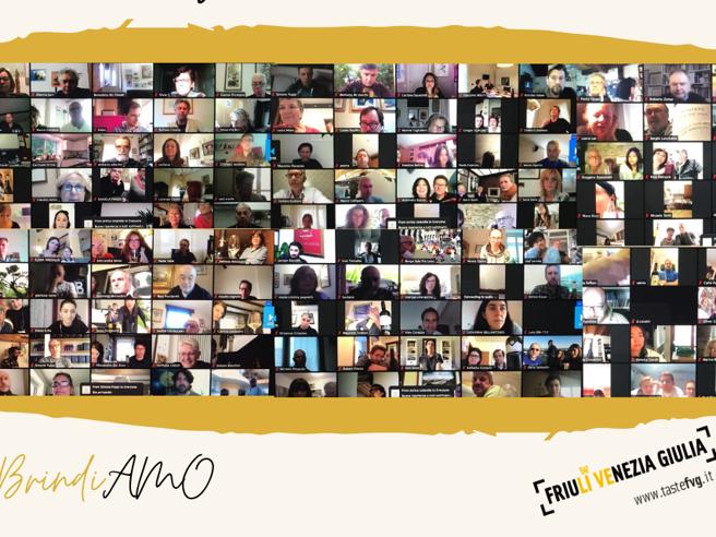 «BrindiAmo»: con mille persone da 30 Paesi, i vini bianchi del Friuli Venezia Giulia uniscono il mondo