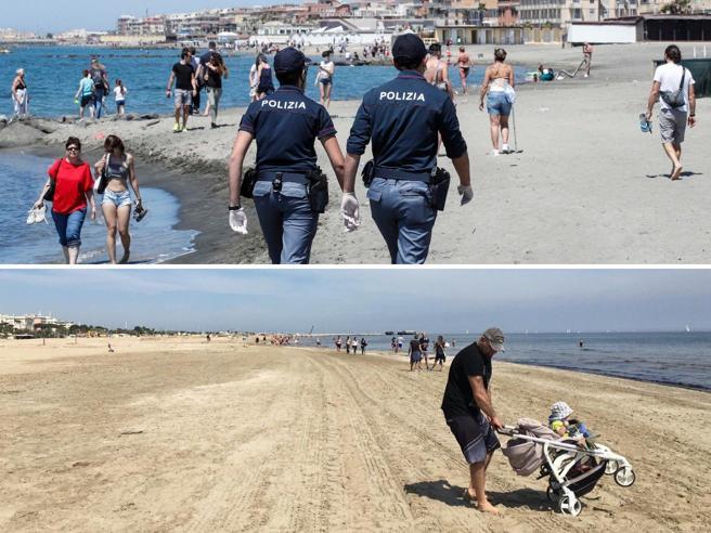 Primo weekend post-lockdown: Ostia e Mondello prese d'assalto. A Rimini ...