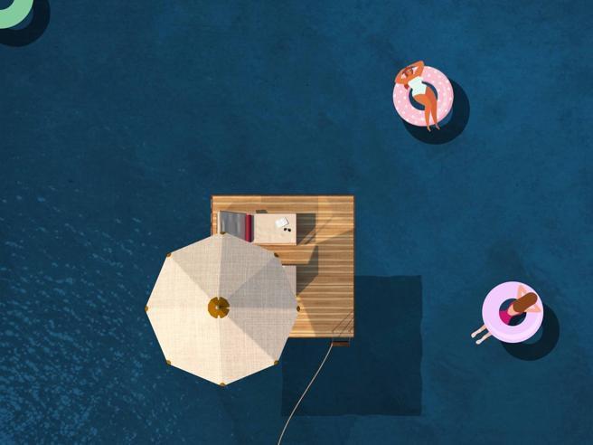 Coronavirus, al mare su piattaforme galleggianti. Il progetto (sicuro) delle quattro architette