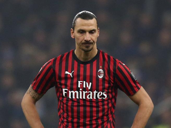 Milan, Zlatan Ibrahimovic infortunio in allenamento: si teme un lungo stop