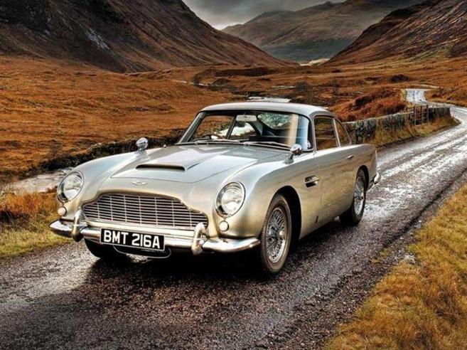 In vendita la superauto di James Bond Con tutti i trucchi, ma non spara