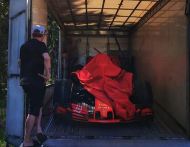 Formula 1, la Ferrari regala a Raikkonen la monoposto con cui ha vinto il Gp degli Usa 2018