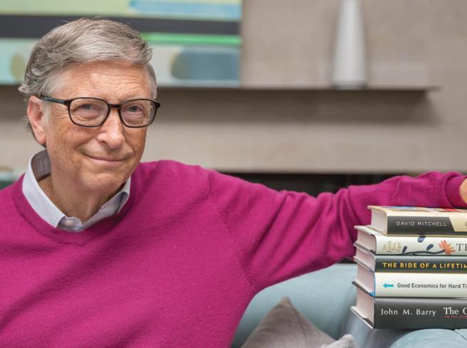 I 5 libri da leggere quest'estate secondo Bill Gates