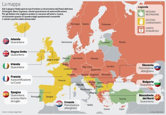 Dove si potrà andare in vacanza? Dalla Spagna all'Est Europa: chi mette i paletti alle nostre ferie