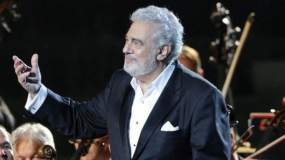 Il tenore spagnolo Plácido Domingo (79 anni)