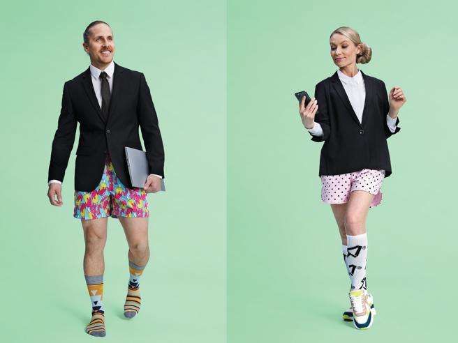"""Lavorare in giacca e intimo. Arriva da Helsinki la """"fashion smartworking"""""""