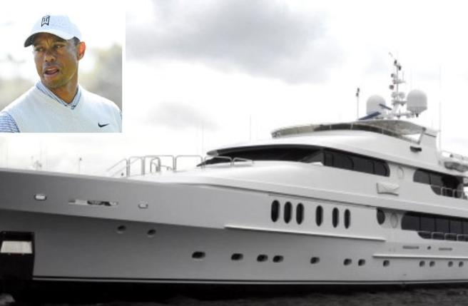 Tiger Woods e il mega-yacht Privacy da 17 milioni (che lui chiama «il mio gommone»)