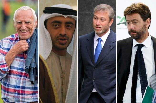 Dallo sceicco Mansour agli Agnelli le 10 famiglie più ricche del calcio mondiale (il primato è di Mr. Red Bull)