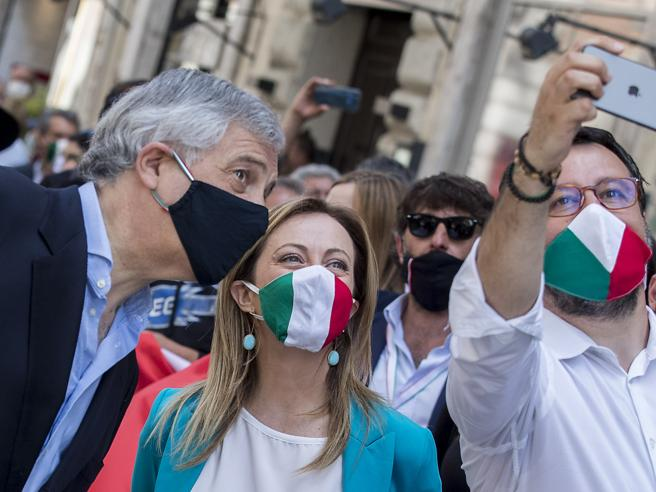 Stati Generali, Salvini, Meloni e Tajani: il centrodestra non ci sarà
