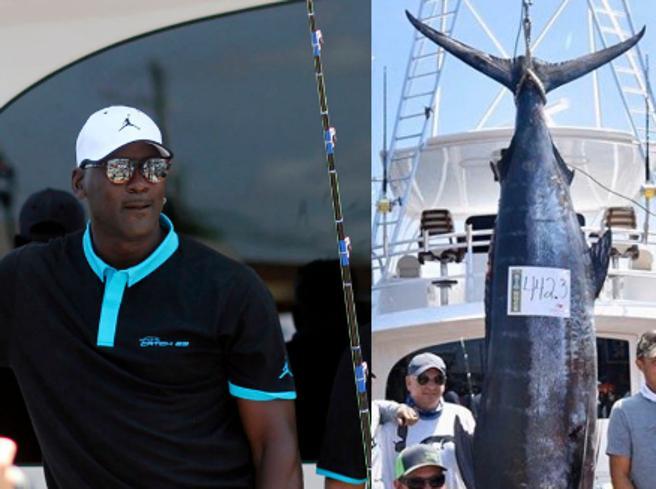 Michael Jordan pesca un marlin di 240 chili in una gara in North Carolina: «Bello, ma volevo vincere»